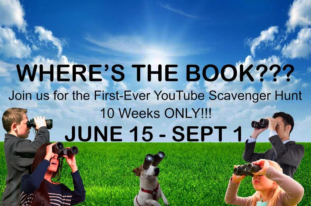 Join us in for the First-Ever YouTube Scavenger Hunt